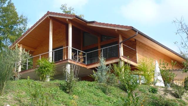 maison ossature bois pays de gex constructeur ossature